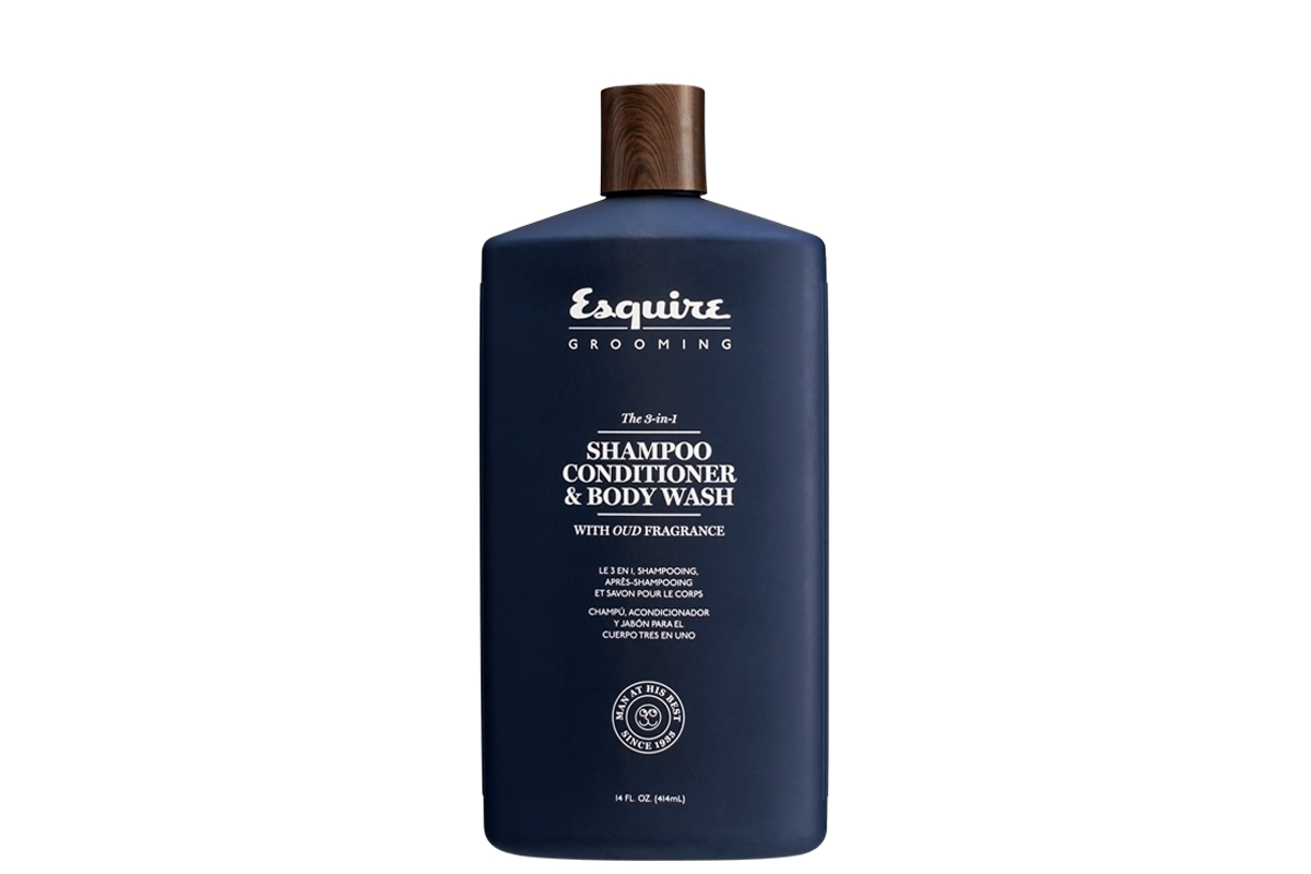 ESQUIRE 3-IN-1 SHAMPOO, CONDITIONER & BODY WASH